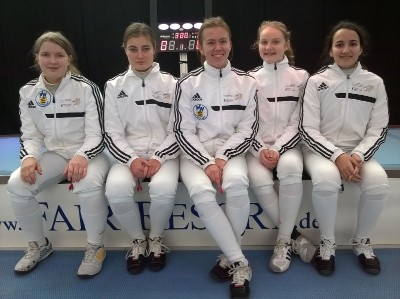 21.01.2017 | Jena | 12. Fair-Resort-Cup Int. A-Jugend Damenflorett Qualifikationsturnier